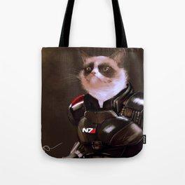 Commander Grumpy Tote Bag