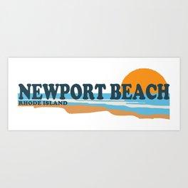 Newport RI Art Print