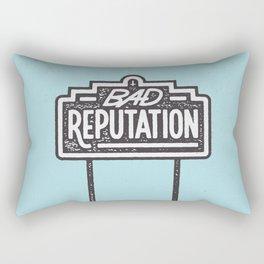 Bad Reputation Rectangular Pillow