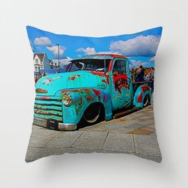 classic in bold Throw Pillow