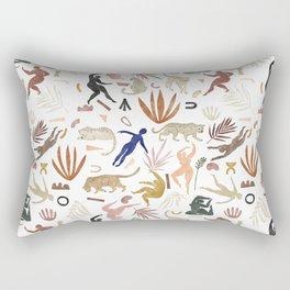Abstract nature shapes II Rectangular Pillow