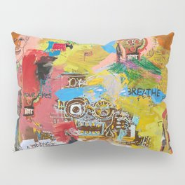 Let the Mind Fly Pillow Sham