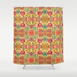 Chintz kaleidoscope Shower Curtain