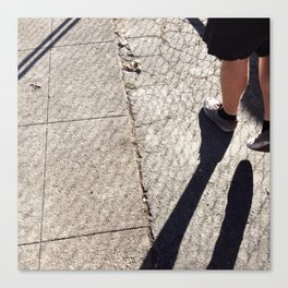 Shoes & Shadows Canvas Print