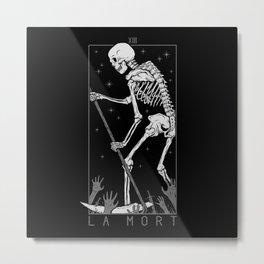 La Mort Metal Print
