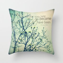 Might Have Been - Spring Tree - iPhoneography Throw Pillow