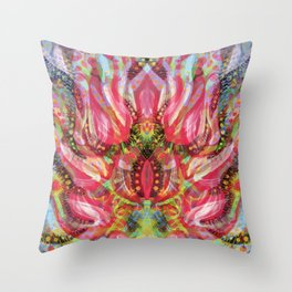Garden Of Evil Throw Pillow