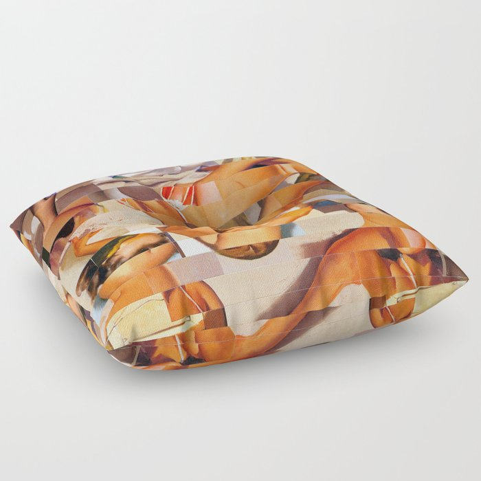 The Young and the Restless (Provenance Series) Floor Pillow