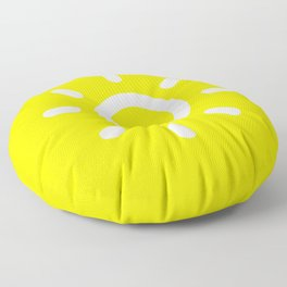 Sun - Better Weather Floor Pillow