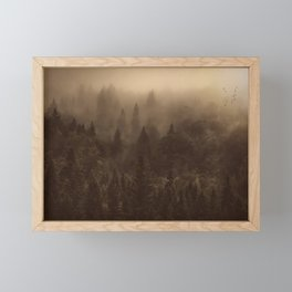 One Hundred Years of Solitude - Tree Forest Mountain Dust Framed Mini Art Print