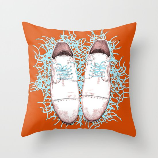 Shoes version 2 Throw Pillow