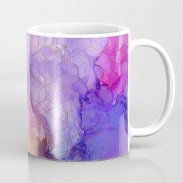 stormy sunset cubed Coffee Mug