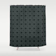 Gloomy Garden Shower Curtain