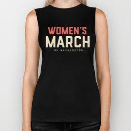 Women's March Biker Tank