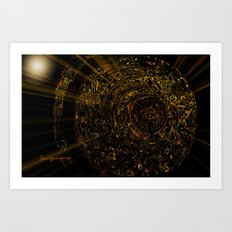 The Target and Archer Art Print