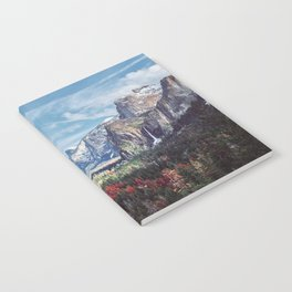 Tunnel View Yosemite Valley Notebook