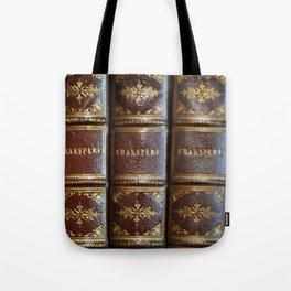Shakespeare books Tote Bag