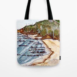 Cabo Mondego, Portugal Tote Bag