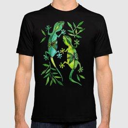 Geckos – Green Palette T-shirt