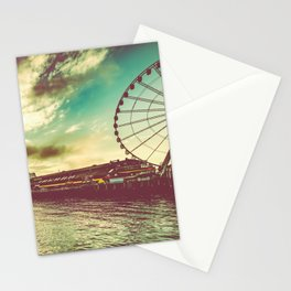 Seattle Pike Place Market Pier 57 Stationery Cards