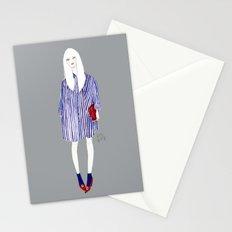 Stripes in Shibuya  Stationery Cards