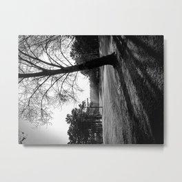 Tree of Lust - Black & White Metal Print