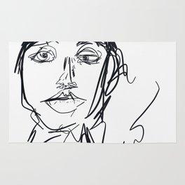 Portrait of a Woman Rug