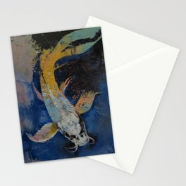 Dragon Koi Stationery Cards