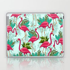 Pink Flamingos Exotic Birds Laptop & iPad Skin
