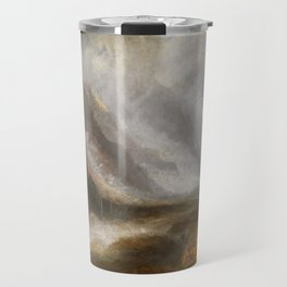 """J.M.W. Turner """"Valley of Aosta - Snowstorm, Avalanche and Thunderstorm"""" Travel Mug"""