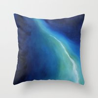 atlas Throw Pillows featuring Atlas by SABartStudio