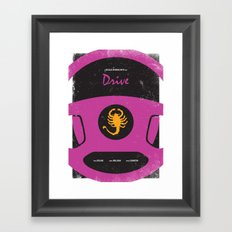Drive Film Poster Framed Art Print