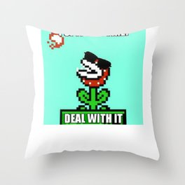 Spit Hot Fire! Throw Pillow