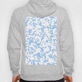 Spots - White and Baby Blue Hoody