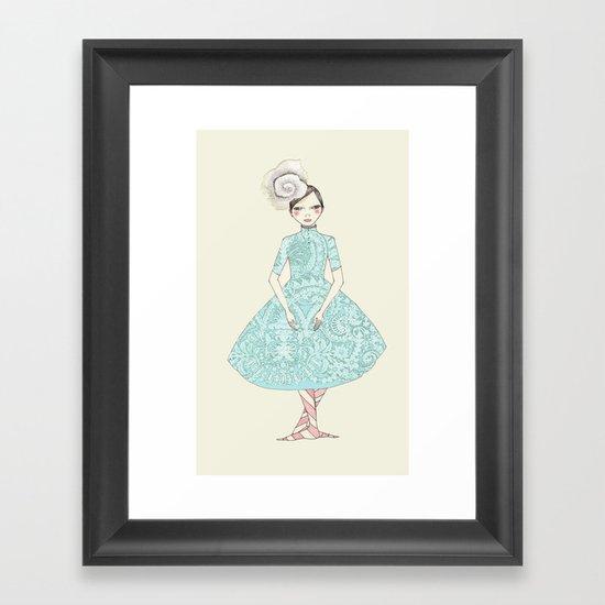 Third position Framed Art Print