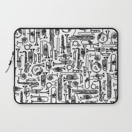 Horns B&W II Laptop Sleeve