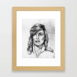 Sue Ellen Ewing Framed Art Print