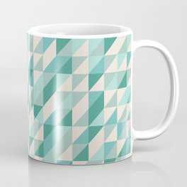 Hashed Blue Coffee Mug