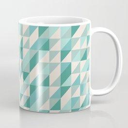 Hashed Blue Coffee Mug