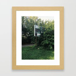 Iphone Untitled 10 Framed Art Print