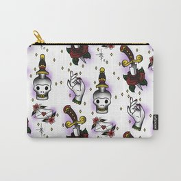 Sparkles and Knives Carry-All Pouch