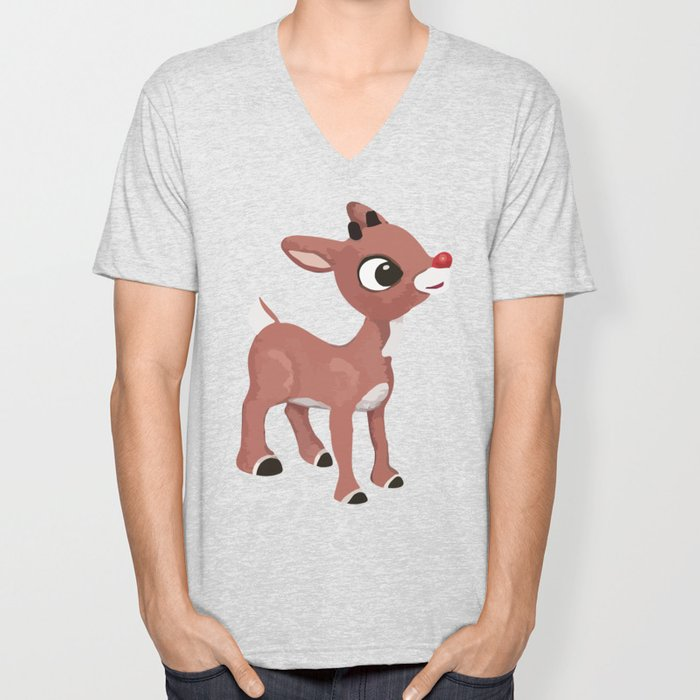Classic Rudolph Unisex V-Neck