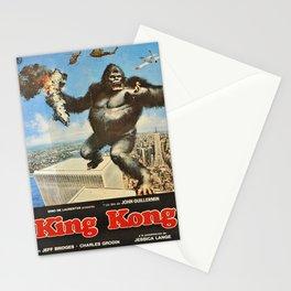 king kong 1976 jessica lange jeff vintage Poster Stationery Cards
