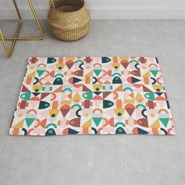 Blocks | Colorful Rug