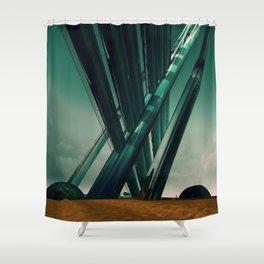AFFLICTION EGFX20 Shower Curtain