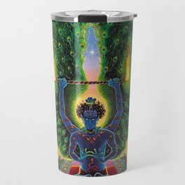 Melek Ta'us (The Peacock Angel) Travel Mug