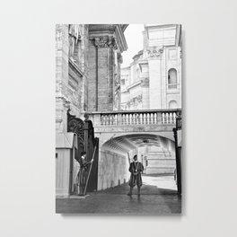 Swiss Guard at the Vatican 1 Metal Print