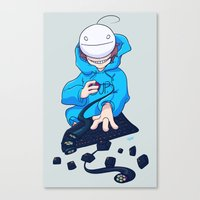 cryaotic Canvas Prints featuring Cryaotic  by Magnta