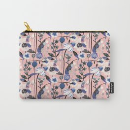 Pastel spring flowers pattern Carry-All Pouch