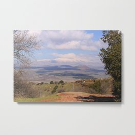 Mount Hermon, Israel Metal Print